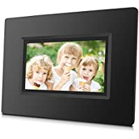 7 inch WiFi Cloud Digital Photo Frame with Touch Screen, Free Cloud Storage & 4GB Internal Memory, HD LED Screen ( Black )