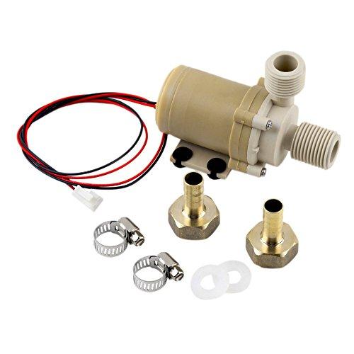 12v Aerator Motor (12V 3M Solar Hot Water Pump Circulation Brushless Motor 212 F w/ Coupler)