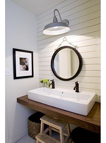 top lavandino per bagno in legno colore noce teak 120x40x5 Esclusiva ...