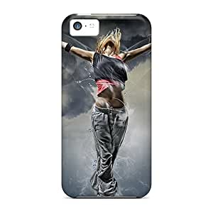 Iphone 5c Cases Covers Skin : Premium High Quality Dance Girl Cases