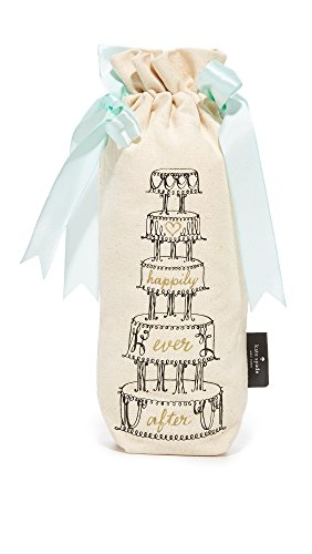 Kate Spade New York 177538 Happily Ever After Wine Tote, (Kate Spade Bridal)