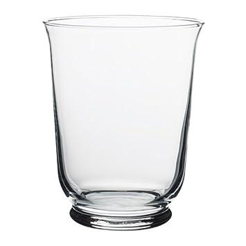 IKEA POMP Vase//Windlicht aus Klarglas; 18cm