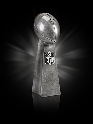 Fantasy Football Trophy Lombardi Style Award LARGE 14' Tall, FREE Engraving