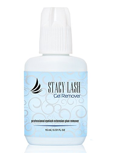 GEL REMOVER for Eyelash Extension Glue Stacy Lash 15 ml/Fast Lash Adhesive Dissolution time - 60 seconds/Aquamarine Color and Pleasant (Eyelash Adhesive Remover)