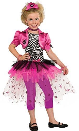 (Punk Princess Costume, Pink,)