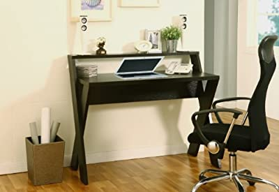 Furniture of America Elisa Home Office Desk, Cappuccino