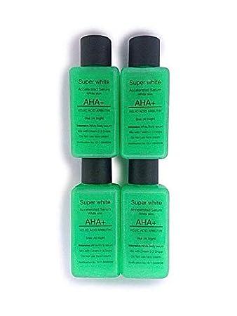 Amazon.com: 30 ml x 4 Kojic Ácido AHA mezcla de arbutina ...
