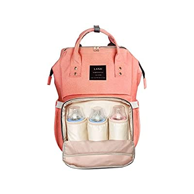 LD Diaper Bag Multi-Function Waterproof Travel Backpack