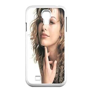 Samsung Galaxy S4 9500 Cell Phone Case White Milla Jovovich 2 FXS_700253