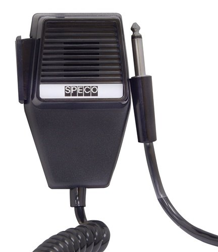 - Push-to-Talk CB/Handheld Microphone with Phone Plug also for Speco 600 ohm impedance