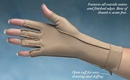 Isotoner Open Finger Gloves, Size: Medium