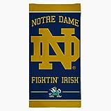 WinCraft NCAA Notre Dame Fighting Irish Fiber Beach Towel, 30 x 60-Inch