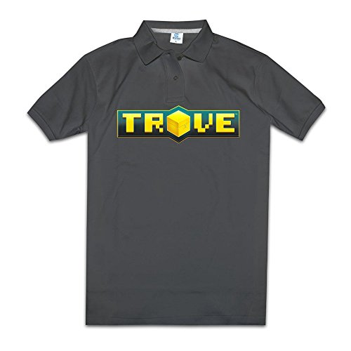 Trove Multiplayer Video Game Mens Polo Dress Shirts Funny Printed T Shirts