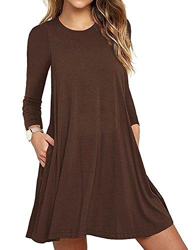 brown dress - 2
