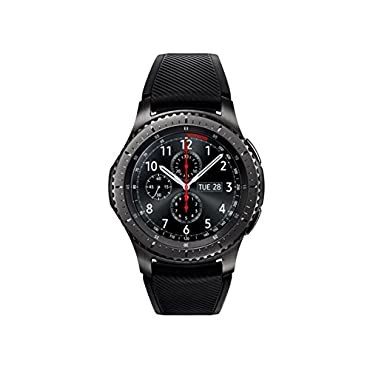 Samsung Gear S3 Frontier Smartwatch 46mm T-Mobile 4G LTE Version, Dark Grey SM-R765T