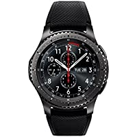 Samsung Gear S3 Frontier (T-Mobile) Smartwatch w/ Rubber Band (Black) - Refurbished
