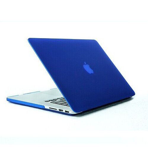 Cush Cases - New Macbook (April 2015 Release Model A1534) 12-inch Hard Shell Case for MacBook - DARK BLUE (Fits Model A1534)