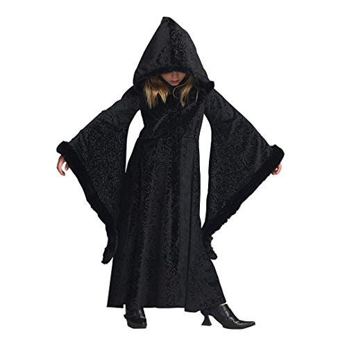 CHASING FIREFLIES Black Cloak Costume for Girls ()