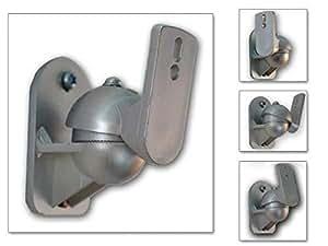 Drall Instruments BH1 - Soporte de pared para altavoces, gris