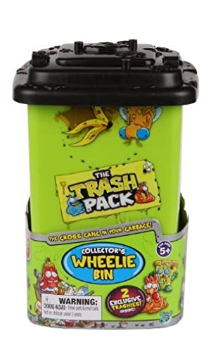 The Trash Pack Wheelie Bin Collectors Case by The Trash Pack