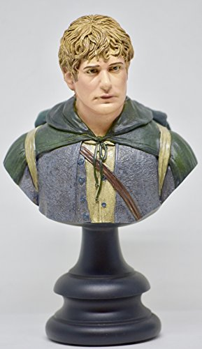 SAMWISE GAMGEE Lord of the Rings Fellowship of the Ring 1/4 Scale Polystone Bust