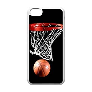 DIY Case Cover for iPhone 5C with Customized Basketball