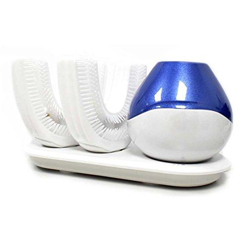 Cepillos De Dientes Eléctricos Ultrasónicos U Tipo Automático Inteligente De 360 ° Carga Inalambrica Hace Tus Dientes...