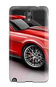 Galaxy Note 3 Case Cover Skin : Premium High Quality 2010 Camaro Red Case