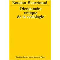 Dictionnaire critique de sociologie [ancienne édition]