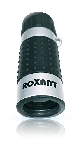 ROXANT High Definition Ultra-Light Mini Monocular Pocket Scope - Carrying case, Neck Strap and Cleaning Cloth are Included
