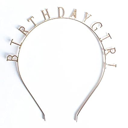 Amazon.com  Elehere Birthday Girl Tiara Headband Headpiece Girls ... 3f680881112