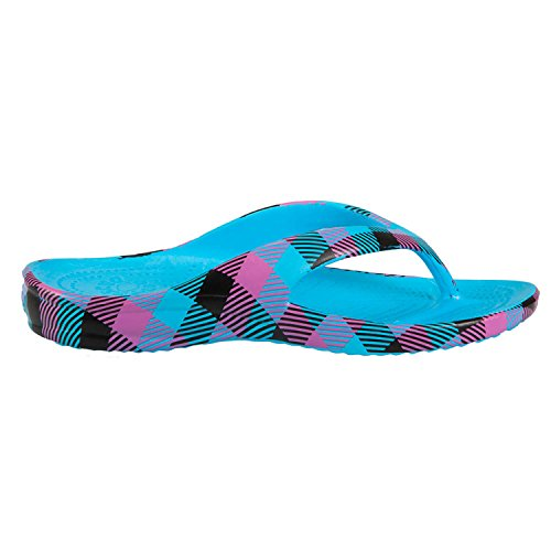 DAWGS Womens Loudmouth Flip Flop Miami Slice 95KhBOq