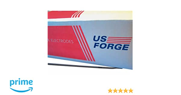 """NEW US FORGE 01337 50LB BOX 1//8/"""" WELDING ELECTRODE RODS AWS 6013"""