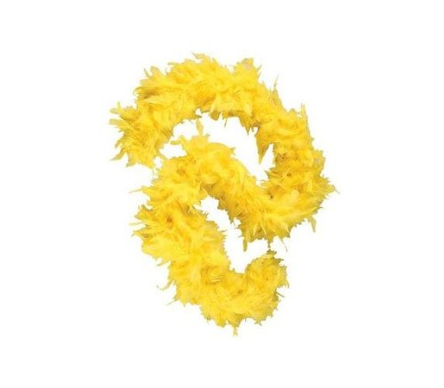 Yellow 6 Foot 60 Gram Feather Boa ()