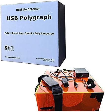 USB Polygraph Machine - Lie Detector