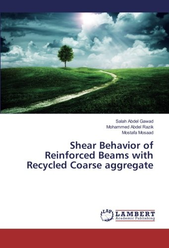 Recycled Reinforced - Shear Behavior of Reinforced Beams with Recycled Coarse aggregate