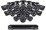 Lorex 16 Channel 4K IP Security Camera System, 16 Channel NVR NR9163X, 3TB HDD, 16 LNB4421 4MP 2K Super HD IP Cameras, Color Night Vision - LN10804-1616W …