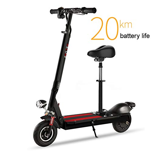 XB Electric Scooter-Lightweight, Foldable & Easy Carry, Hight-Adjustable, Two-Wheeled Mini Electric Scooter for Teenagers and Adults(Black)