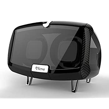 Versa Enzo Double Watch Winder - Carbon Fiber