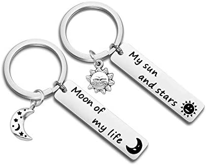 Game of thrones Game of Thrones Keychain My sun and stars Stars. Moon Couples Keychain Khal and Khaleesi Sun Moon of my life
