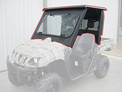 All Steel Complete Cab Enclosure System No Doors Yamaha Rhino 660 700 2007-2013 & Amazon.com: All Steel Complete Cab Enclosure System No Doors Yamaha ...