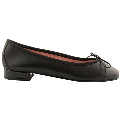 Exclusif Paris Women's Ballet Flats Black 8GMqZhqHJ
