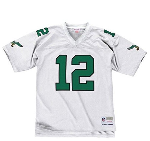 Philadelphia Eagles Randall Cunningham Premier Throwback Mitchell Ness Replica White Jersey (XL) - Mitchell & Ness Screen Print Jersey
