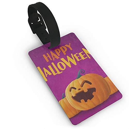 Luggage Tags Happy Halloween Pumpkin Smiling Bag Tag