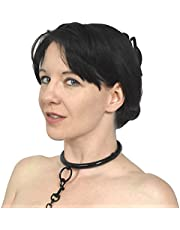 Elegante roestvrijstalen halsband met O-ring afsluitbaar