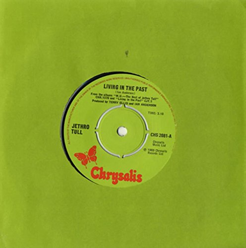 Living In The Past - Green Label (Jethro Tull Living In The Past Vinyl)