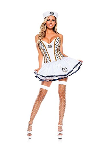 Naughty Sailor Adult Costume - Plus Size 1X/2X