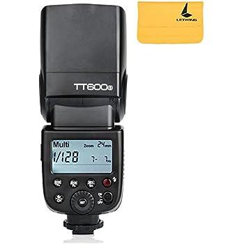 Godox NEW TT600S GN60 2.4G Camera Flashgun Speedlite for Sony MI Hot Shoe Camera (TT600S)
