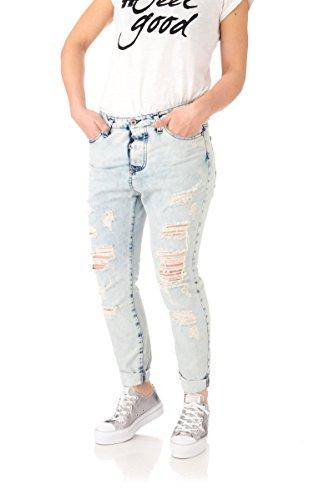 Jeans donna Please denim light blu