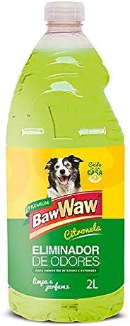 BAW WAW ELIMINADOR DE ODORES CITRONELA 2 litros